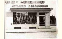 Metzgerei Brönnimann AG - Archivbild aus vergangene Zeiten