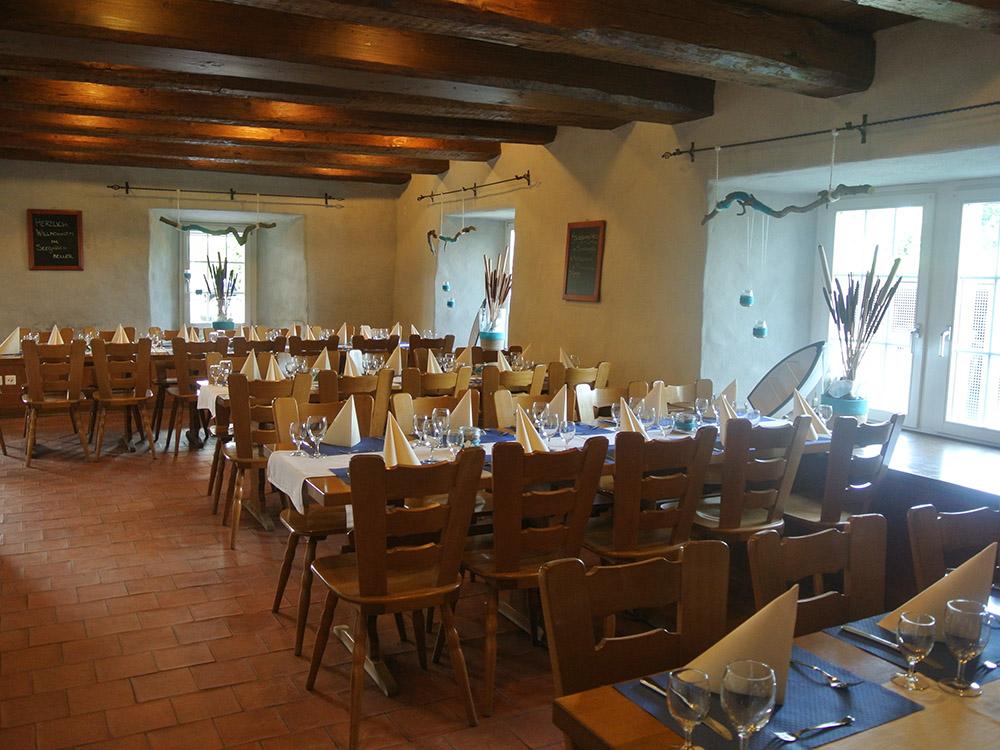 Metzgerei Brönnimann - Restaurant Seegartenkeller - Innenansicht