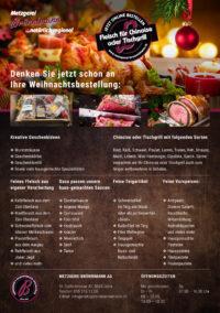 Weihnachtschinoise, Metzgerei, Festmahl, Truthahn,